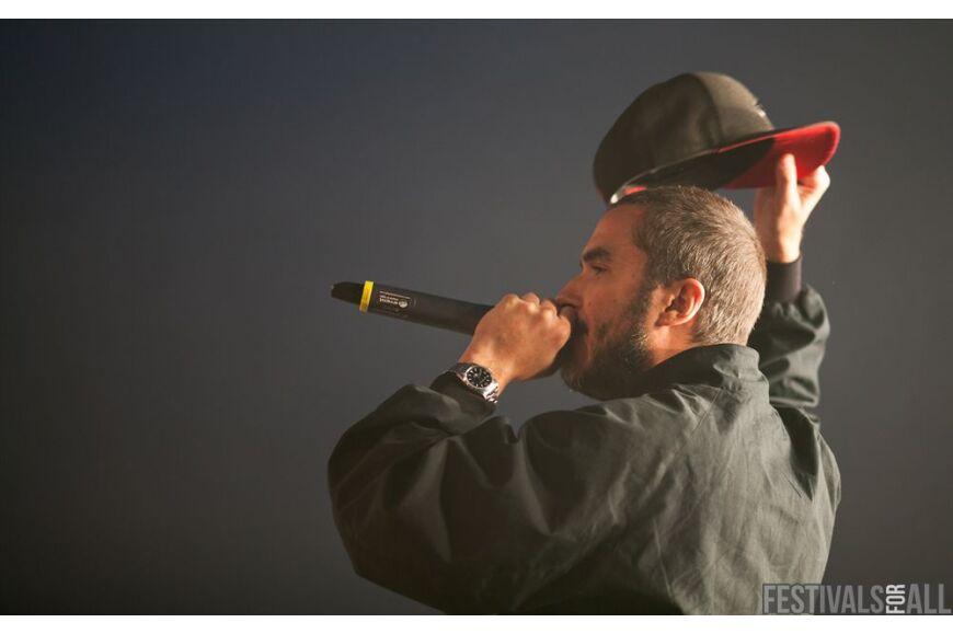 Zane Lowe at Brownstock 2012